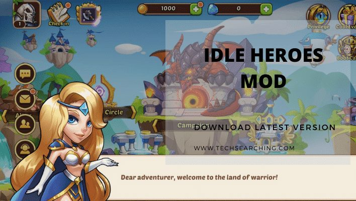 idle heroes mod latest version updated