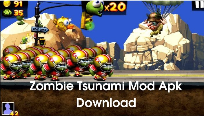 Zombie Tsunami Mod Apk Download