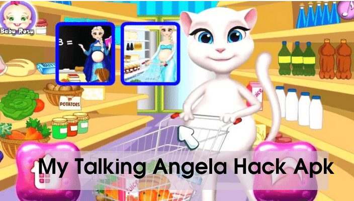 my talking angela hack apk latest version 2020