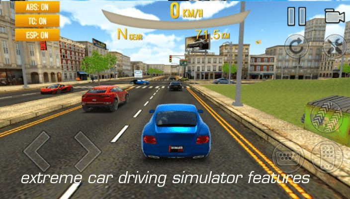 extreme car driving simulator mod apk download