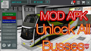 Bus Simulator Indonesia Modded version Apk free