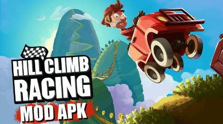 hill climb racing mod apk unlimited money and fuel