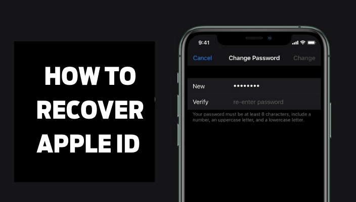 how to RECOVER APPLE ID